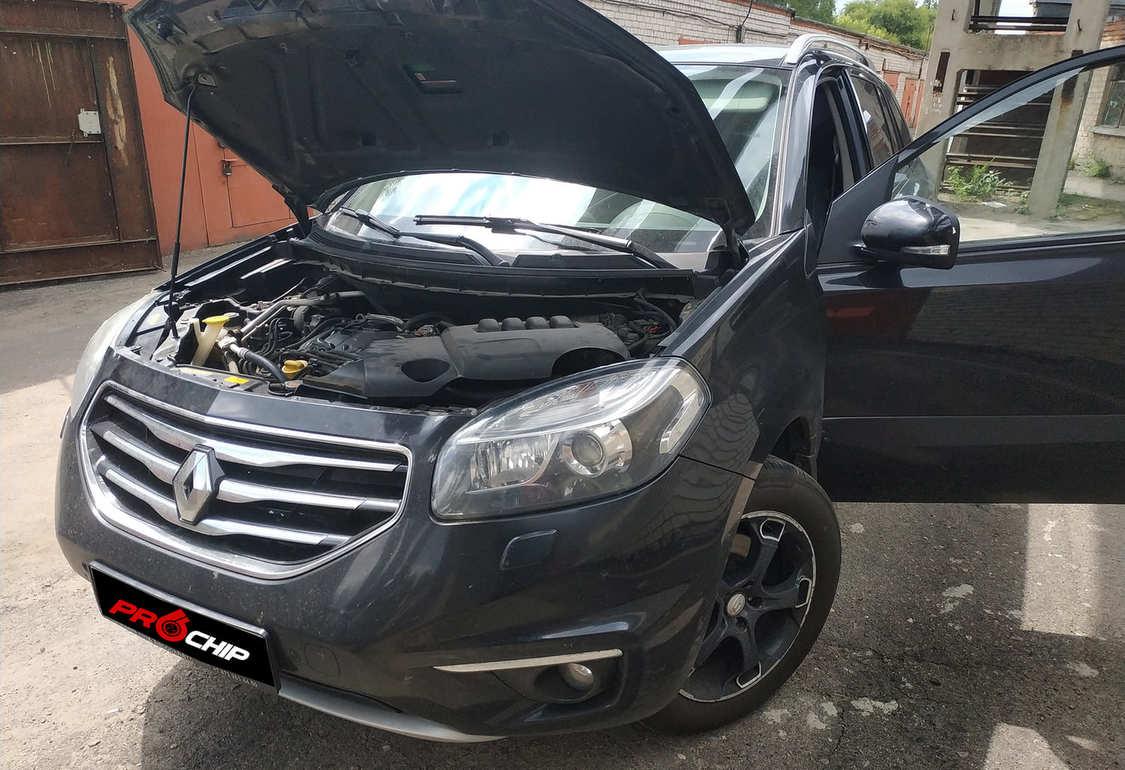 Чип-тюнинг Renault Koleos